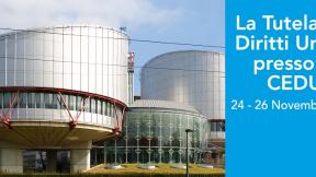 Banner Corso di formazione La Tutela dei Diritti Umani presso la Corte Europea dei Diritti dell'Uomo