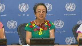Victoria Tauli-Corpuz, UN Special Rapporteur on the rights of indigenous peoples