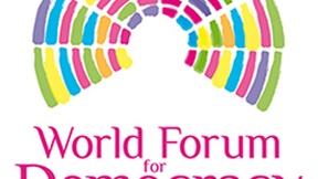 Logo del World Forum for Democracy 2014