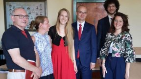Three students of the Department of Political Science, Law and International Studies of the University of Padova graduated in International Relations at the University of Wroclaw (Poland), in the framework of the double degree programme established betwee