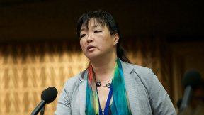 Yoomi Renström, relatrice del Congresso dei poteri locali e regionali del Consiglio d'Europa