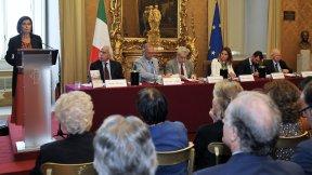 Presentazione Annuario italiano diritti umani 2015, Roma, 16 settembre 2015, Presidente Laura Boldrini