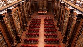Università di Padova, Palazzo del Bo, Archivio Antico: veduta dall'alto