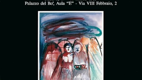 """Locandina del convegno """"Autodeterminazione dei popoli e nuovo ordine internazionale democratico"""", Università di Padova, Palazzo del Bo, 17-18 marzo 1989."""