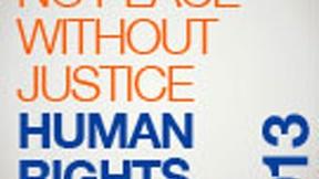 """""""Premio No Peace Without Justice per i Diritti Umani"""", Logo"""