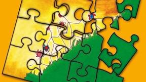 """Immagine di copertina della brochure """"Il Pubblico Tutore dei minori del Veneto. Garante dei diritti dell'Infanzia e dell'adolescenza"""", Ufficio protezione e pubblica tutela dei minori della Regione Veneto, 2006"""