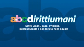 "CD cover from the ""ABCdirittiumani"" cd-rom, 2002"