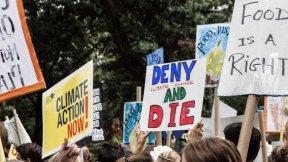 Marcia per il clima, a New York