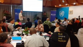 United Nations Conference on climate change and human rights, Fiji, 5-7 August 2019
