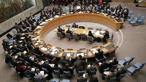 un campo largo del Consiglio di Sicurezza mentre delibera sulla situazione in Afghanistan