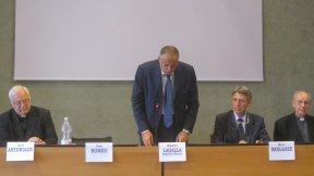 Convegno Istituto Razzara 2013, foto della tavola dei relatori