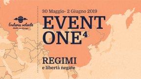 """L'Osteria Volante, Festival """"Eventone^4 - regimi e libertà negate"""", Padova, 30 maggio – 2 giugnio 2019"""