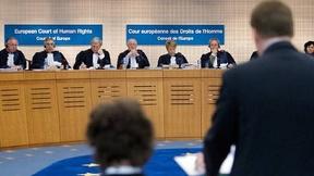 Alcuni giudici della Corte Europea per i Diritti Umani in seduta