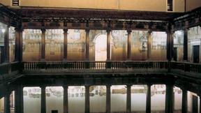 Veduta del cortile antico del Palazzo del Bo, sede dell'Università di Padova