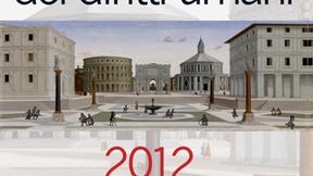 Copertina dell'Annuario italiano dei diritti umani 2012