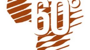 Logo per il 60° Anniversario di Medici con l'Africa CUAMM.