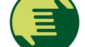 Logo istituzionale del difensore civico della Regione Toscana raffigurante due mani stilizzate che si intrecciano