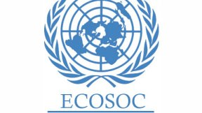 Logo ECOSOC: Consiglio Economico e Sociale