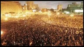 Dimostrazioni in Egitto presso Piazza Tahrir, 2011