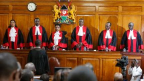 Kenya's Supreme Court upholds President Uhuru Kenyatta's election victory following a re-run in 2017.