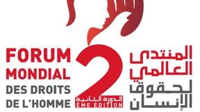 Locandina del Forum mondiale dei diritti umani, 27-30 novembre 2014, Marrakesh