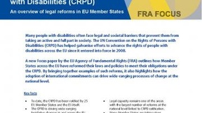 2015 Focus paper of the EU Agency of Fundamental Rights (FRA) on the implementation of the UN Convention on the Rights of Persons with Disabilities (CRPD)