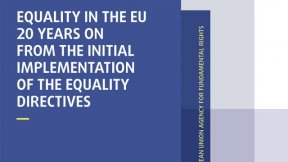 Equality in the EU 20 years on from the initial implementation of the equality directives. Image