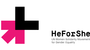 Logo campagna HeForShe di UN Women