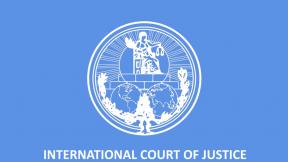 Logo Corte internazionale di giustizia