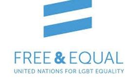 """Logo della campagna """"Free&Equal"""""""