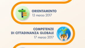 infografica che mostra i 10 bandi per le scuole italiane, offerti dal MIUR