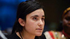 Foto di Lamya Haji Bashar, Premio Sacharov 2016.