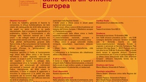 """Course description of the 19th Post-graduate Course on Human Rights and the Rights of Peoples """"Insitutional Civic Defense from the City to the European Union"""", Padua, 2007"""