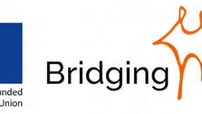 "logo ""Bridging the gap"""