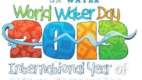 Logo della Giornata mondiale dell'acqua,  2013