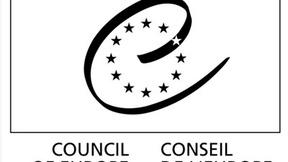 Logo del Consiglio d'Europa in bianco e nero