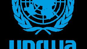 Logo UNRWA - Agenzia delle Nazioni Unite per il soccorso e l'occupazione dei rifugiati palestinesi