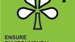 Logo del settimo degli Obiettivi ONU di Sviluppo del Millennio, Garantire la sostenibilità ambientale; raffigura un fiore stilizzato su sfondo verde.