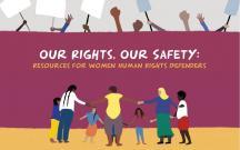 Our rights, our safety: toolkit di JASS per donne attiviste e difensore dei diritti umani