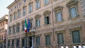 Facciata di Palazzo Madama, Italian Senate