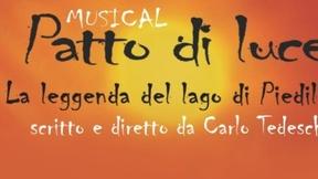 """Locandina del musical """"Patto di Luce"""""""