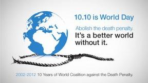 Manifesto della giornata contro la pena di morte, 2012
