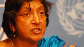 Navi Pillay, Alto Commmissario delle Nazioni Unite per i diritti umani