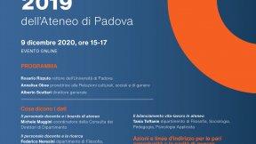 Presentazione Bilancio di Genere 9 dicembre 2020