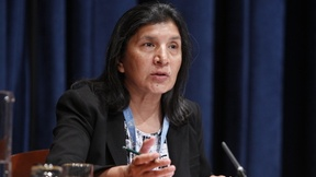 Rashida Manjoo, UN Special Rapporteur on Violence against Women, 2011