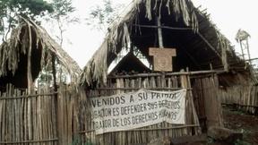 Casa di rifugiati in Guatemala