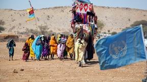 Rifugiati nel Sud Darfur.