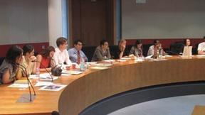 Foto dei partecipanti al Symposium on Cultural Diplomacy: Il Ruolo del Soft Power nel Contesto Internazionale, Berlino, 27 – 31 luglio 2009.