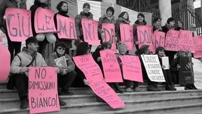 """Flash Mob """"Riprendiamoci i DIRITTI!, Studenti per- UDU, Piazza dei Signori, Padova, 8 marzo 2012 """""""
