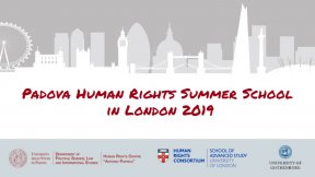 """Summer School """"Normativity and Reality of Human Rights"""" (2019): Situations of human rights vulnerability to AI and ICT, London, SAS, July 7-12, 2019"""